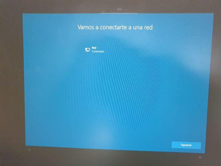 Configurar red en Windows 10
