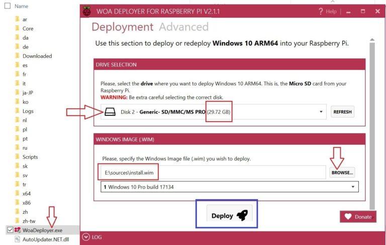 Descargar WOA Deployer 2.1.1